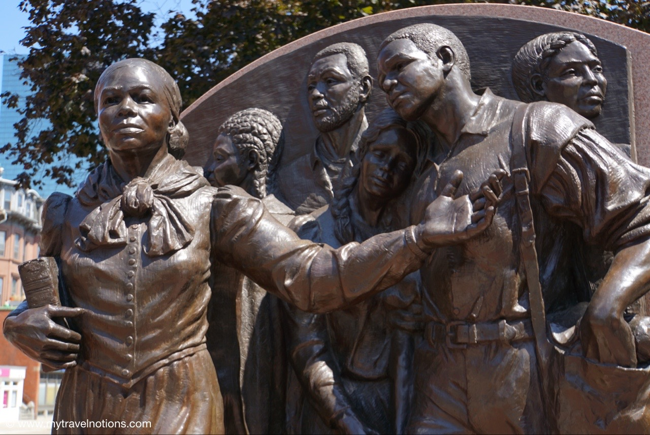 Walkable Boston - Two Museums and Harriet Tubman - My Travel